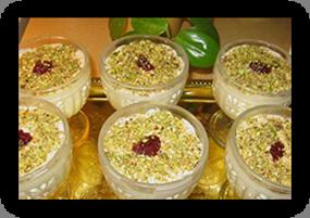 Dos recetas del dulce árabe MAHALABIA o QUISHK EL-FOQARA (3/4)
