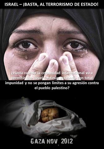 ¡BASTA, AL TERRORISMO DE ESTADO!
