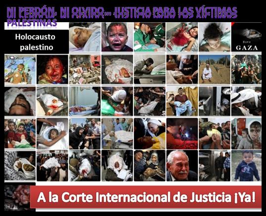 A la Corte Internacional de Justicia Ya