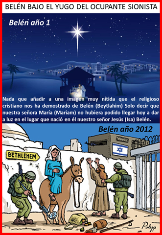 BELÉN BAJO EL YUGO