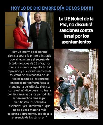 HOY 10 DE DICIEMBRE DÍA DE LOS DDHH