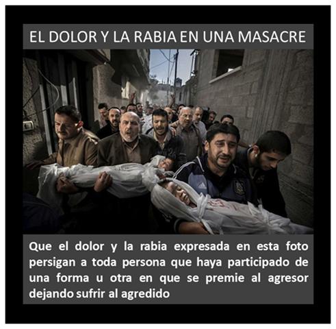 EL DOLOR Y LA RABIA EN UNA MASACRE