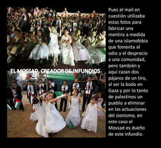 EL MOSSAD, CREADOR DE INFUNDIOS