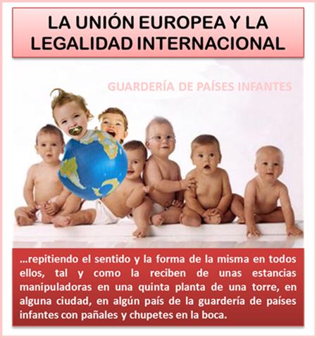 LA UNIÓN EUROPEA Y LA LEGALIDAD INTERNACIONAL