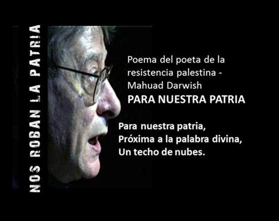 NOS ROBAN LA PATRIA