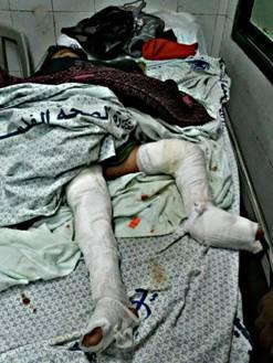 La pequeña Hala Al-Bohari asesinada por Israel (2/3)