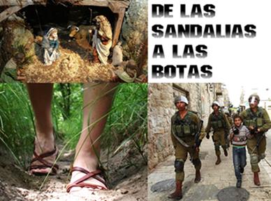 De las sandalias a las botas