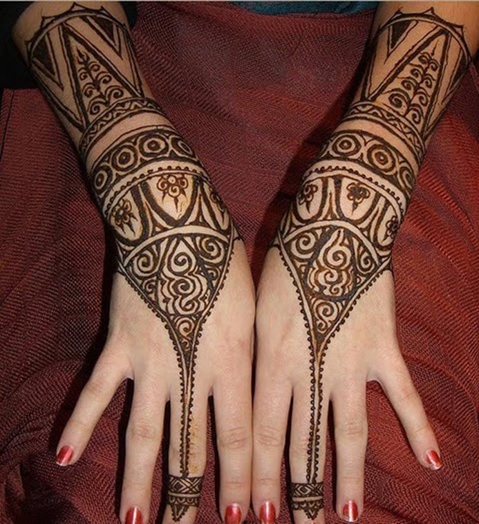 Arte árabe Con Henna