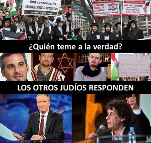 LOS OTROS JUDÍOS RESPONDEN