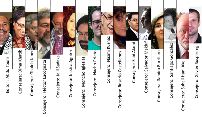 Miembros consejo editorial