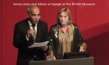 Adnan Al-Sayegh en el museo británico