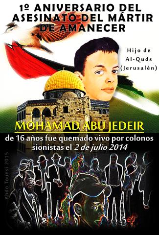 1º aniversario del mártir de manecer