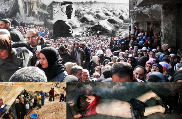 El stand by del refugiado palestino