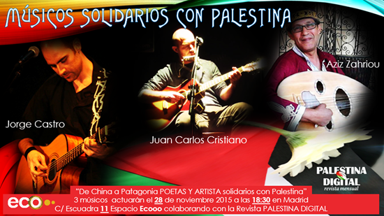 3 músicos solidarios